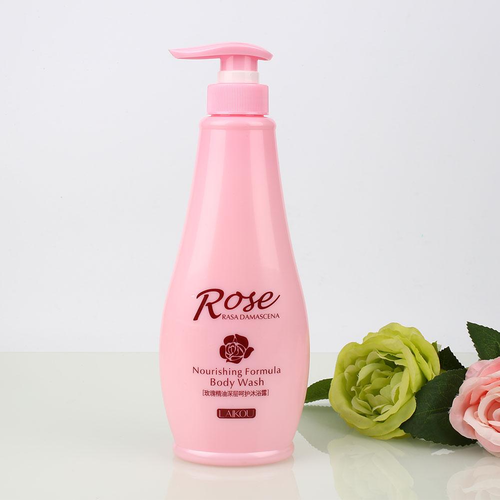 Treatment Kit Rose Essential Oil Deep Clean Moisture Mild Care Body Wash