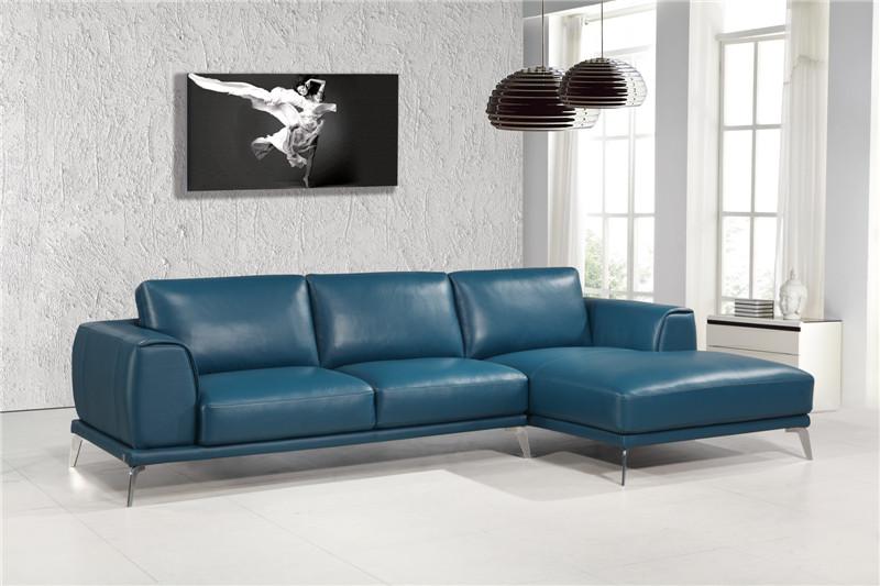 Modern design leather sofa with Top grain italian leather for sofa set living room furniture(China (Mainland))