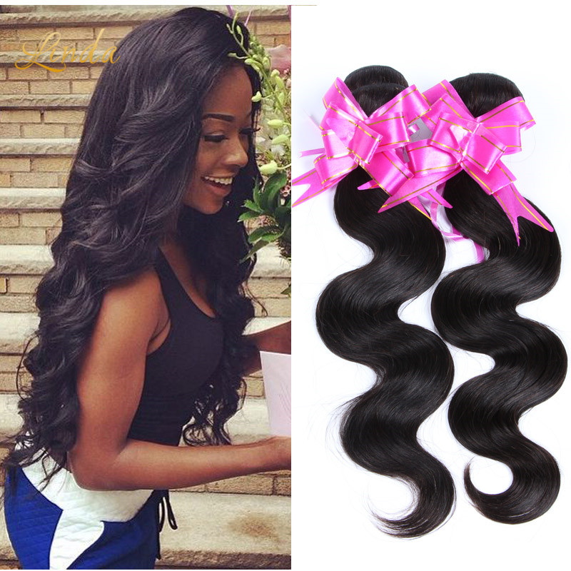 Queen Hair Products Peruvian Virgin Hair Body Wave 4PCS Peruvian Body Wave Unprocessed Human Hair Weave 6A Virgin Peruvian Hair