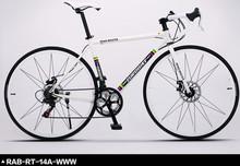 14/27 Speeds Fashion Road Bike, Aluminum Alloy Body,Both Disc Brakes(China (Mainland))