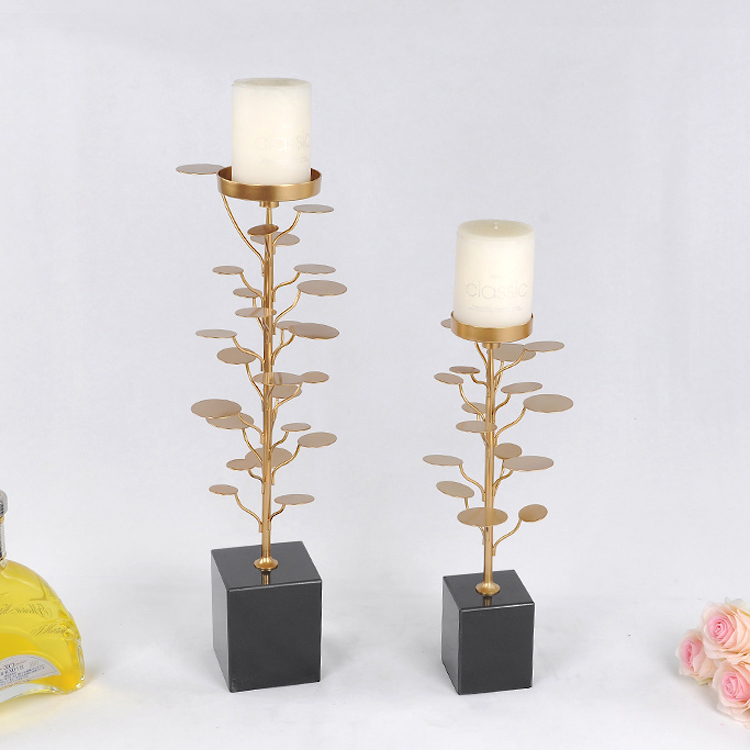 Traditional Chinese MONEY TREE metal candelabra decor copper candle holder(China (Mainland))