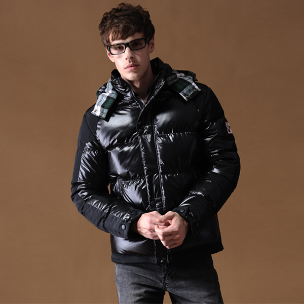 2015 New England Style Autumn Man Winter Warm Slim Thick Cotton Winter Coat Men Outdoor Jacket