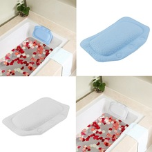 Bathroom supplies bathtub pillow bath headrest suction cup waterproof Bath Pillows Bathroom Products pillow for bathroom (China (Mainland))