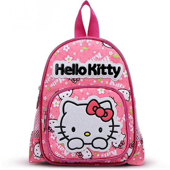 2014 Hot sale Kindergarten child school bag Hello kitty cartoon design schoolbag Children's lovely Candy satchel MINI backpacks