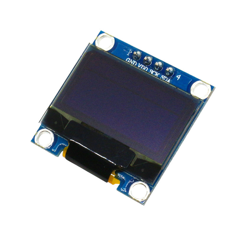"128X64 12864 IIC 0.96 Inch OLED LCD LED Display Module Yellow Blue Double Color and White for Arduino 0.96"" IIC SPI(China (Mainland))"