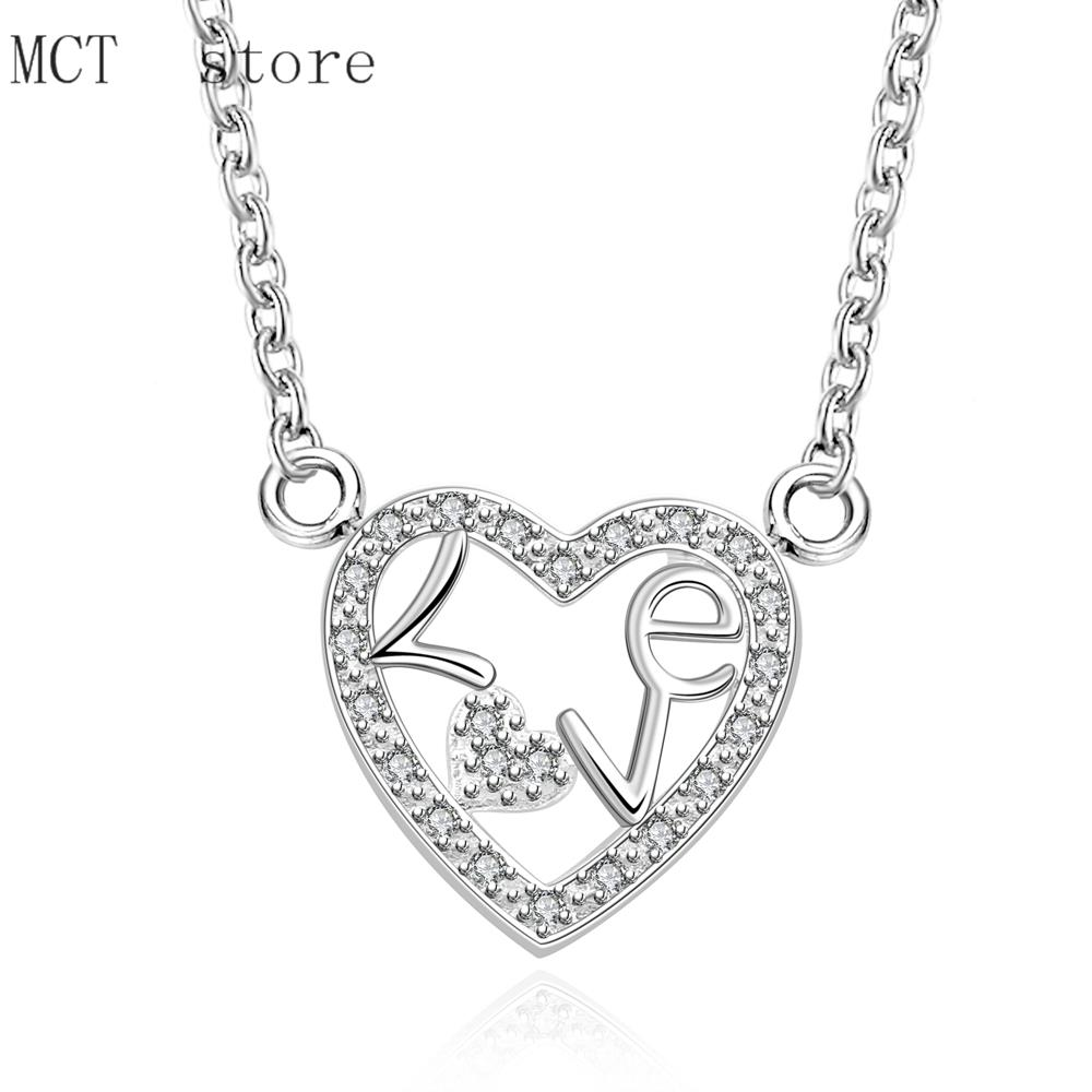 N655 hot Wholesale price 925 Sterling Silver Jewelry New Style Fashion Woman Men chain necklace jewelry(China (Mainland))