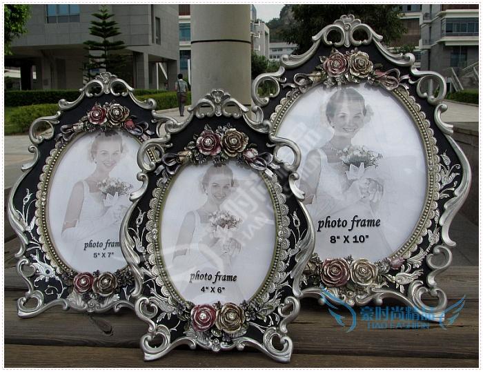 6 дюймов 7 дюймов 10 дюймов смолы рамки старинные свадебное фото студия подарок на день рождения коробка оптовая продажа европейский рамка