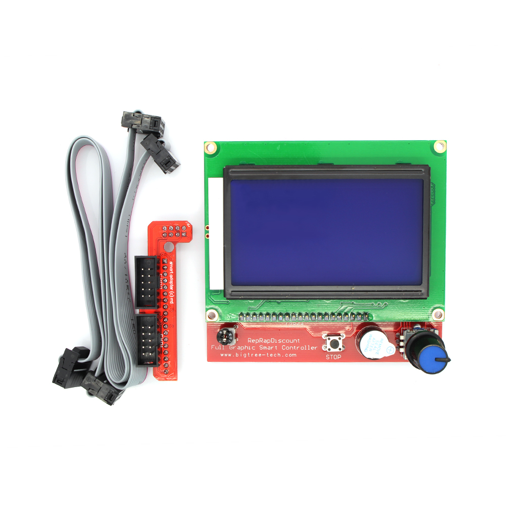 Ramps14 Lcd 12864 Control Panel 3d Printer Smart Controller Free Shipping Drop