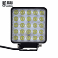 2016 12 24V 75W LED Car Lights Square Cool White LED Work Lights Waterproof 25 LEDS