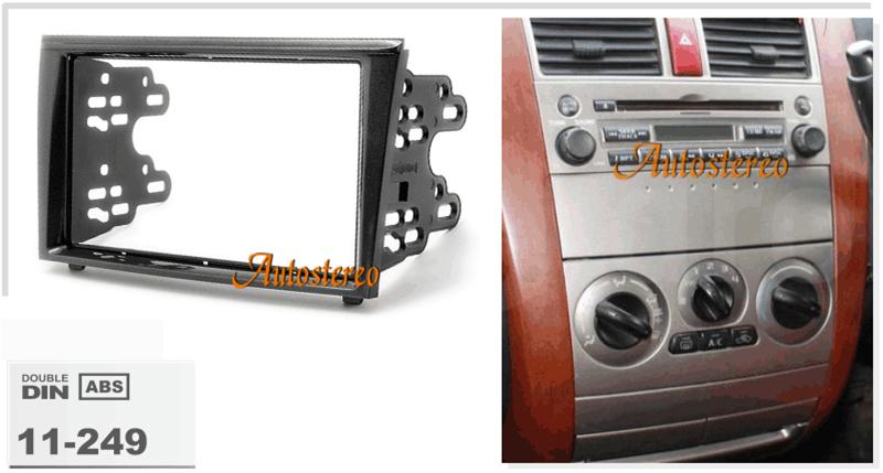 Autostereo Car Radio Facia for Colt 2002-2012 Colt Plus2004-2012 Dash Installation Fascia Face Plate CD Surround Panel DVD Frame(China (Mainland))