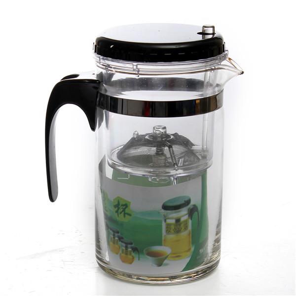 High Quality 500ml Heat Resistant glass Tea Pot Flower Tea Set Puer Teapot Coffee Pot Teaset