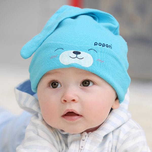HOT Unisex Toddler Baby Boy Girl Toddler Infant Cotton Soft Cute Hat Cap Beanie(China (Mainland))