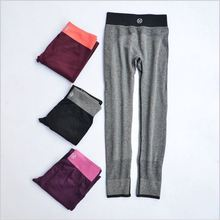 Hot sale Women stretch leggings super comfortable stretch yoga pants running fitness exercise female stretch leggings