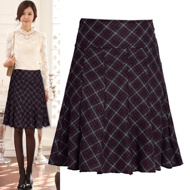 new fashion 2015 skirts autumn winter worm skirts