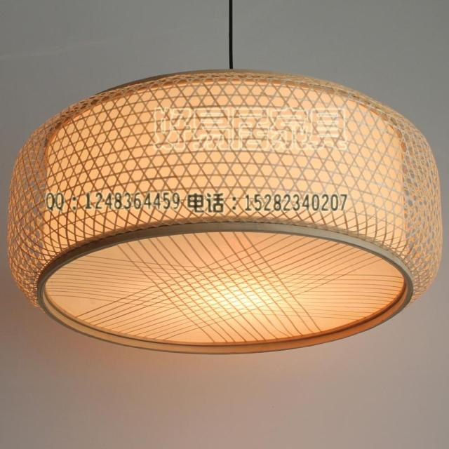 Lanterns Decoration Lamps Bamboo Lantern Lamp Cover Japanese Style Pendant Light 25 68 Bamboo