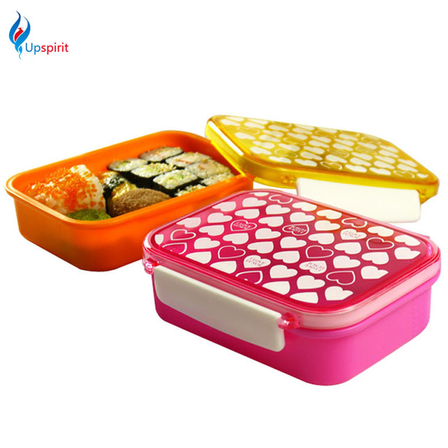 1pc 420ml plastic food storage containers vacuum food container japanese bent. Black Bedroom Furniture Sets. Home Design Ideas