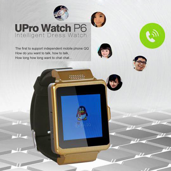 SIM SD Your Second Smart Beautiful Phone Watch P6 mini touch-screen phone Bluetooth calls Phone calls Camcorder Image viewer(China (Mainland))