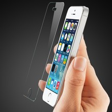 Ultra Thin 0.26mm Premium Tempered Glass Screen Protector For iPhone 4 4s 5 5s 5c 6 6s Plus Protective Film + Cleaning Kit