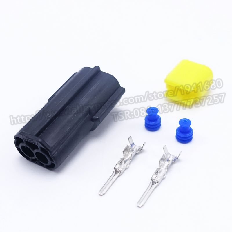 AMP 1.8 series Two Pins Waterproof Auto Connector Plug Denso Connectors<br><br>Aliexpress