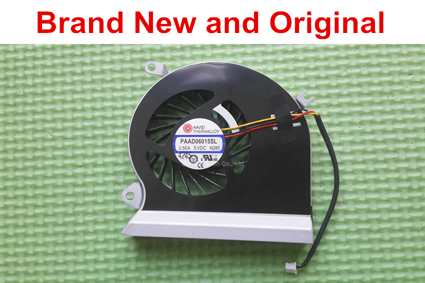 New and Original CPU fan for MSI GE70 laptop CPU cooling fan cooler PAAD0615SL 3pin 0.55A 5VDC N285(China (Mainland))
