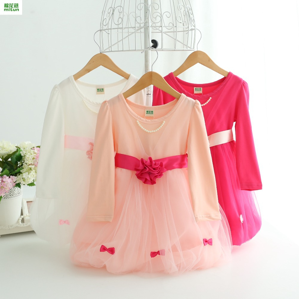 new products tutu dress toddler girl clothing Autumn princess party dresses for girls infant children baby clothes fashion kids(China (Mainland))