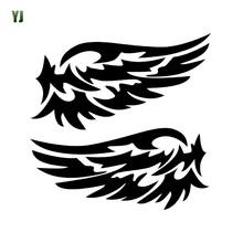 Ange – gardien ailes belle voiture autocollants réfléchissants mode voiture rétroviseur pour bande paragraphe CT-530