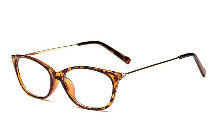 2016 Brand Design Diamond Spectacle Frame Women Eyeglasses Frames Women Computer Reading Optical clear lens Frame Eye Glasses (16)