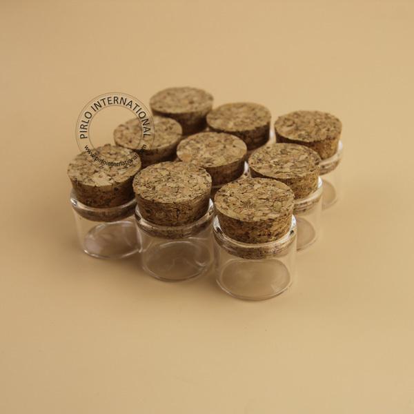 5 g mini petites bouteilles en verre flacons pots avec des bouchons bouchons d coratif en verre. Black Bedroom Furniture Sets. Home Design Ideas