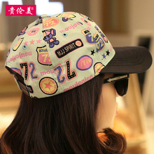 Snapback Caps Hats Coating Outdoor Sunscreen Baseball Cap Fashion Hit Color For Graffiti Adjustable Size Exercise