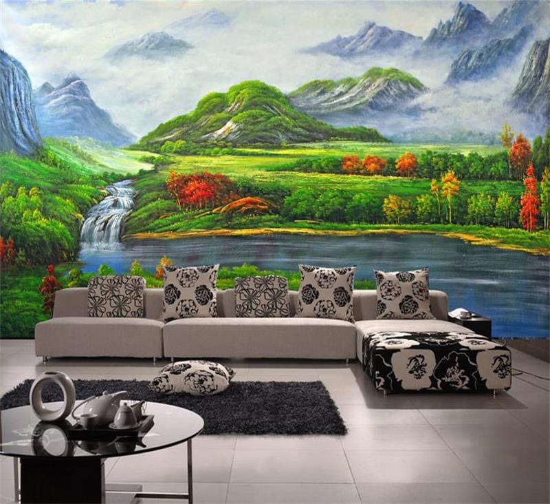 Compare prices on waterfall photo online shopping buy low for Custom mural cost