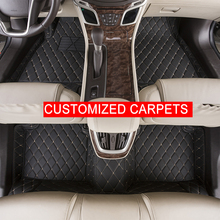 Custom Car Floor Mats Customized Mercedes Benz GLK 350A160 A180 B CLA CLS E G GL R S Classes Carpets Foot Rugs - Autocar Store store
