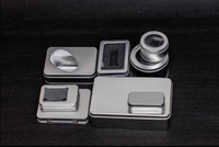 30pcs Blank Clear Lid Stationery Metal Tin Box Survival Kit Container Mini Empty Tinplate Small Storage Case