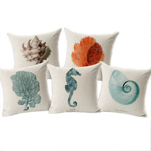 Sea Shell Throw Pillow Covers