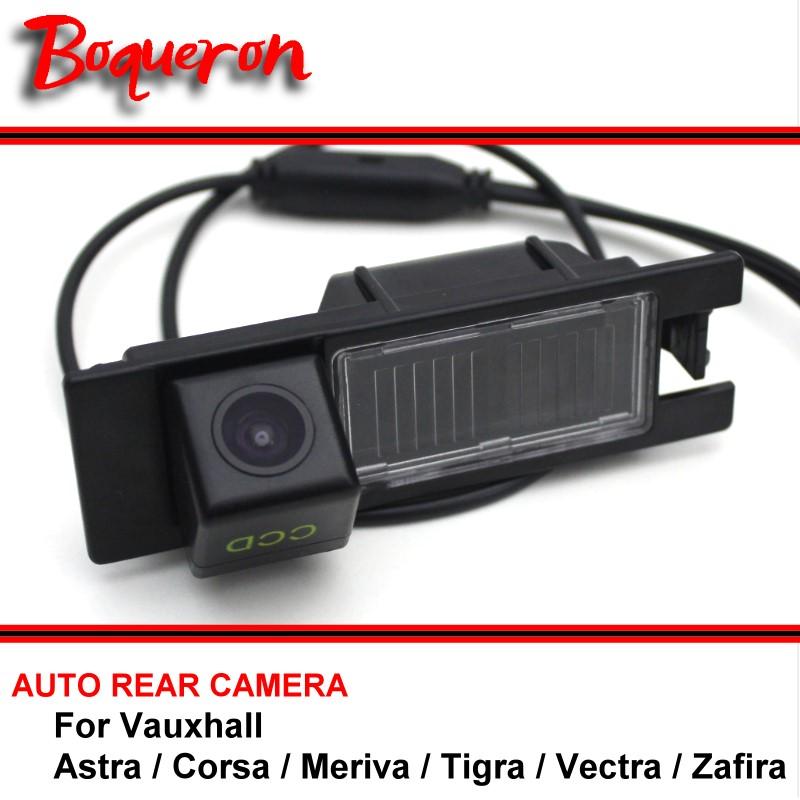 For Vauxhall Astra / Corsa / Meriva / Tigra / Vectra / Zafira Car Parking Camera HD CCD Night Vision Reversing Rear View Camera(China (Mainland))