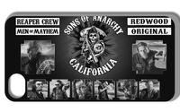 2014 Hot cases! Sons of anarchy  Case  for iPhone 5 5s  1pcs +free shipping