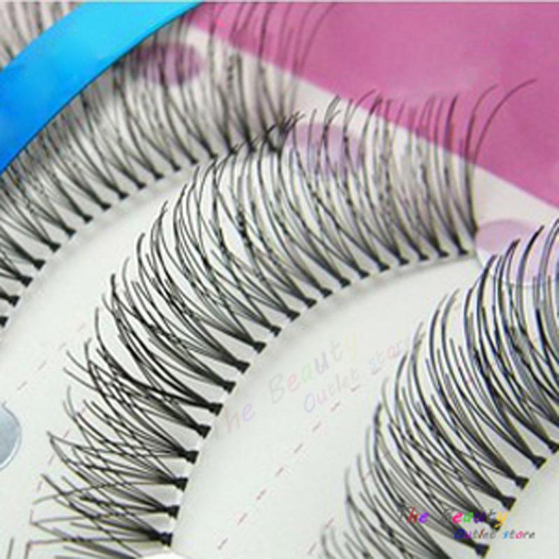 20 Pairs Makeup Tools Natural False Eyelashes for Female Fake Eye Lashes Eyelash Extension Long Individual False Eyelashes(China (Mainland))