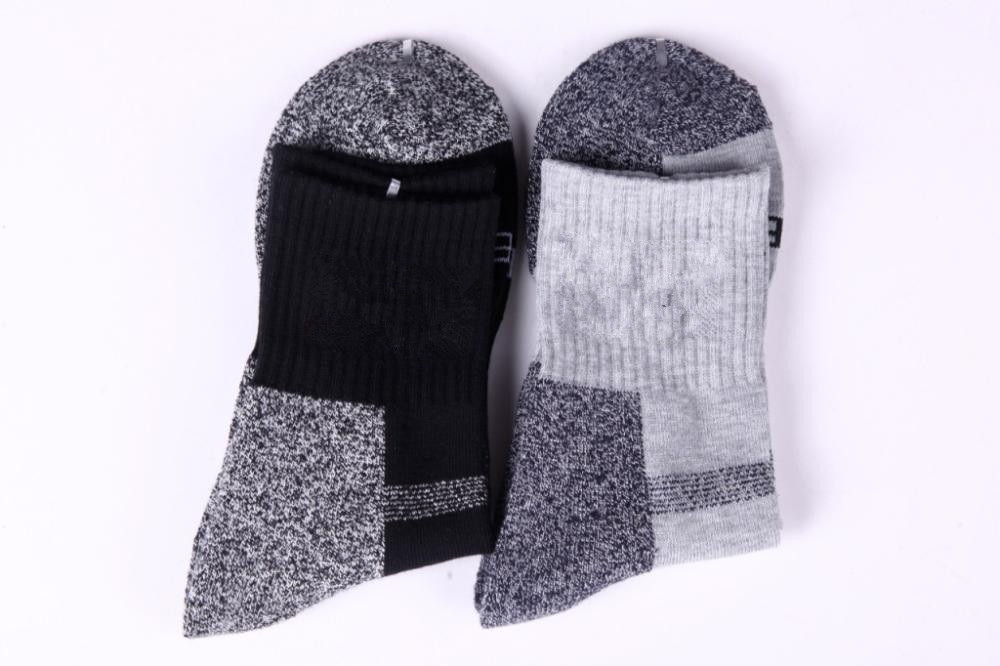 Thickening socks coolmax quick drying socks outdoor sports men s socks terry towel male socks arc