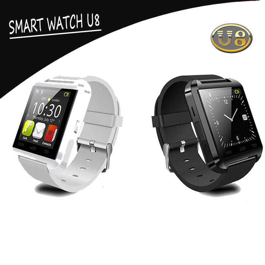 Bluetooth Smart Watch MTK WristWatch U watch U8 watch sport for iPhone 4/4S/5/5S Samsung S4/Note 2/Note 3 HTC Android Phone(China (Mainland))