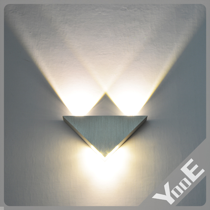 Indoor 3W LED Wall Lamp AC110 220V Acrylic Abajur material Aluminum Sconce bedroom Decorate Wall Light