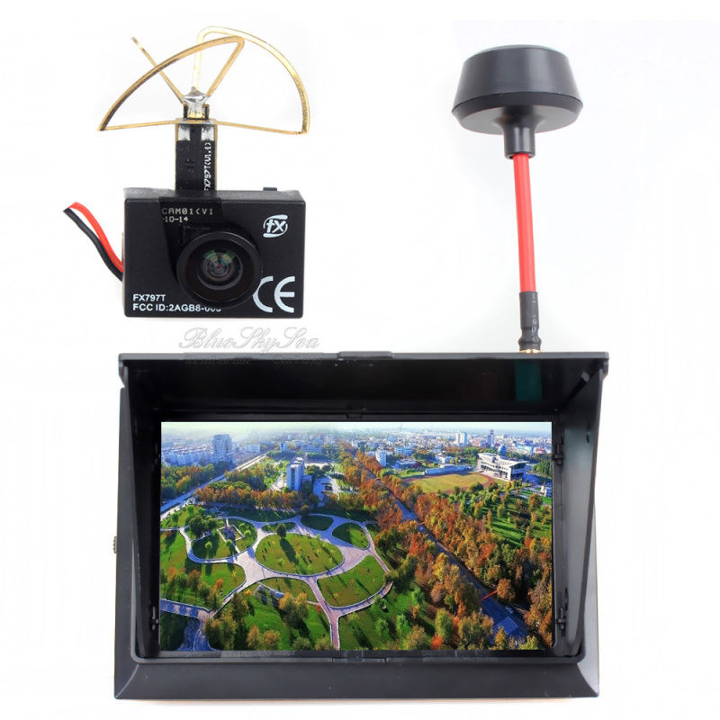 !FX 797T 5.8GHz Wireless Camera TX Transmitter F408 4.3 inch Monitor Receiver FPV Kit  -  Coshine Group Co., Ltd store