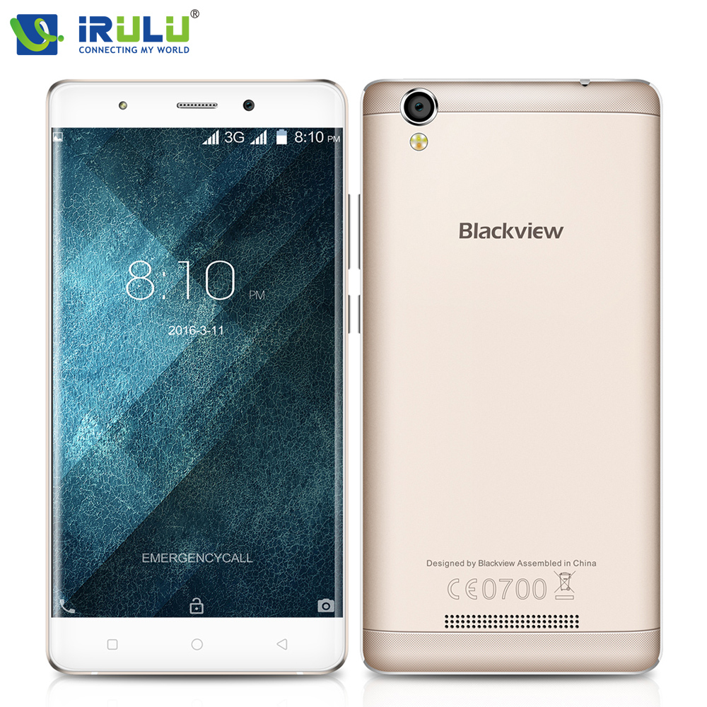 Original Blackview A8 5 0 Android 5 1 3G Smartphone 1280 720 IPS HD Quad Core