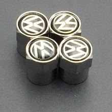 Free Shipping Wholesale Metal Wheel Tire Valve Caps Stem Air For VW VOLKSWAGEN CC R GTI Passat Golf polo mk5 mk6 Tiguan(China (Mainland))