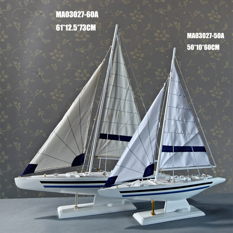 Free Shipping New Mediterranean Style <font><b>Home</b></font> Furnishing ZAKKA <font><b>Home</b></font> <font><b>Decoration</b></font> Vessel Model