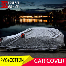KUST Newest PVC+Cotton Material Dust-Proof Car Cover For Honda For CRV 2015 Protective Cover For CRV 2016  Exterior Accessories(China (Mainland))