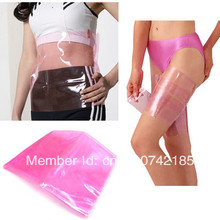 Free Shipping Track Number New Sauna Slimming Belt Burn Cellulite Fat Leg Thigh Wraps Weight Loss Shaper d6SpL