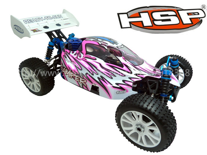 NEW HSP Baja 1/8th Scale Nitro Power Off Road Buggy RTR CAMPER 94860 with 2.4Ghz Radio Control RC Car Remote Control Toys(China (Mainland))