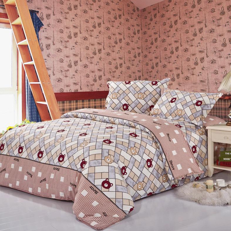 ours en peluche literie promotion achetez des ours en. Black Bedroom Furniture Sets. Home Design Ideas
