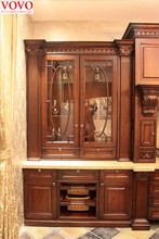 French kitchen furniture with glass door(China (Mainland))