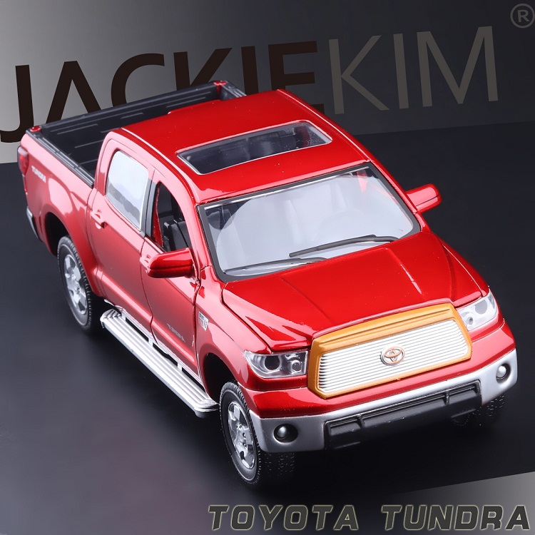 1:32 Alloy Car Model Best Gifts High Simulation Exquisite Model Toys ShengHui Car Styling TOYOTA Tundra Pickup Trucks Model(China (Mainland))