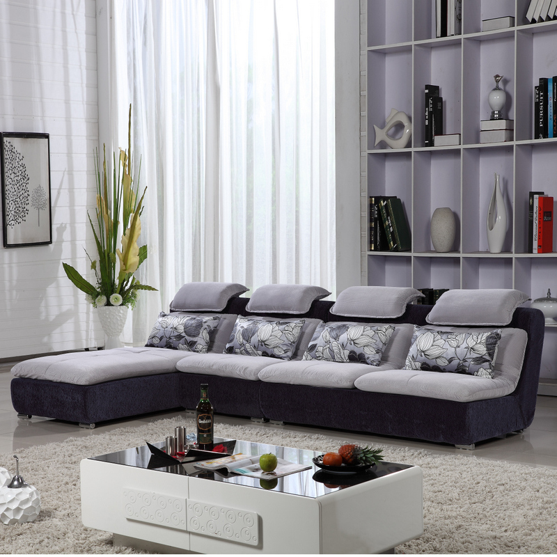 Luxury L Shaped Sofa Sofa Ideas. Furniture : Trendy Black Leather Couches Living  Room ...